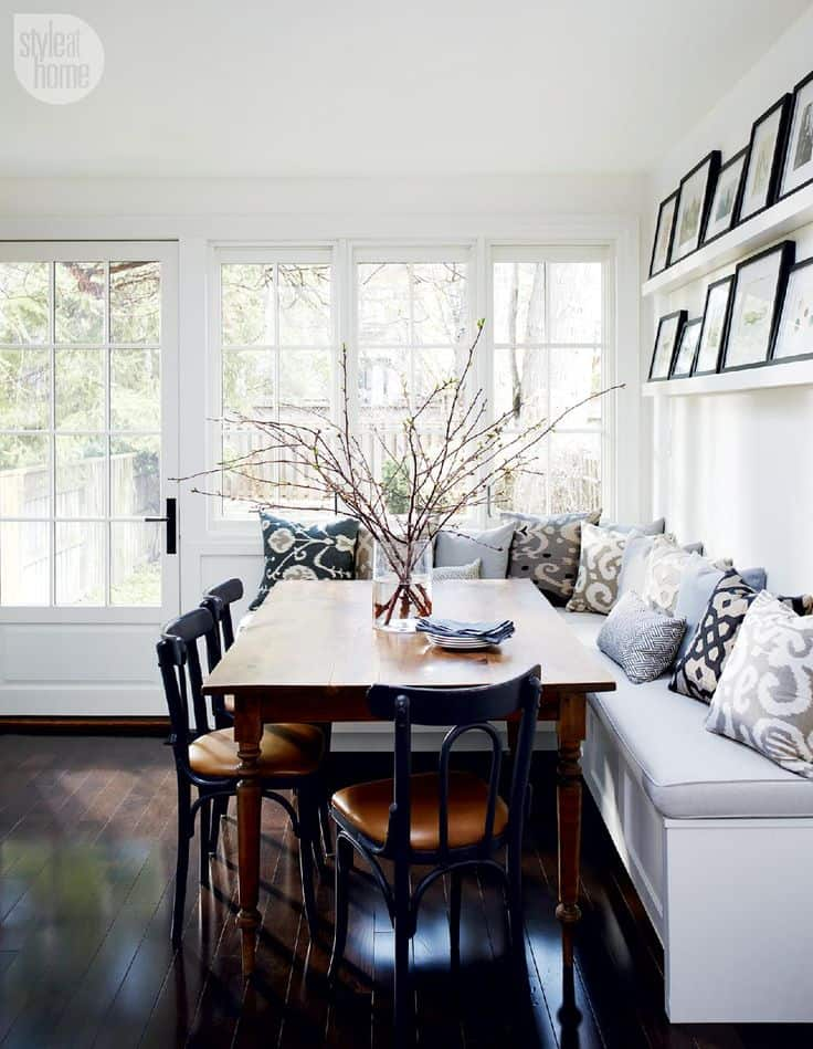 15 Kitchen Banquette Seating Ideas For
