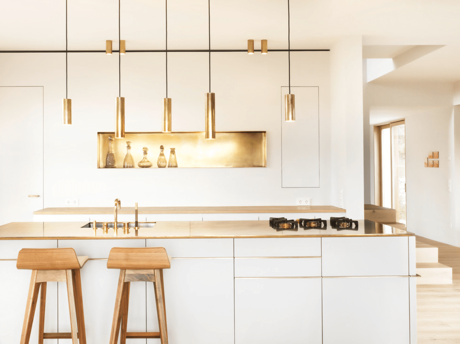 metallic kitchen  New Decorating Trends That Are Totally Worth Trying In 2018