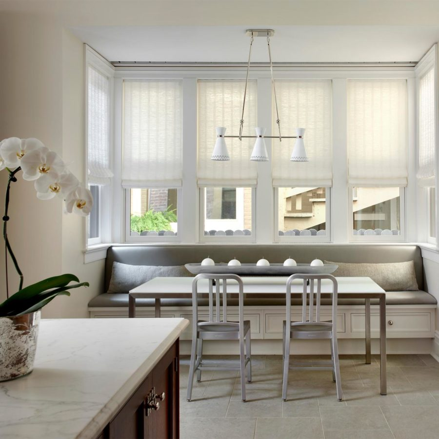 modern banquette kitchen seating 900x900 15 Kitchen Banquette Seating Ideas For Your Breakfast Nook