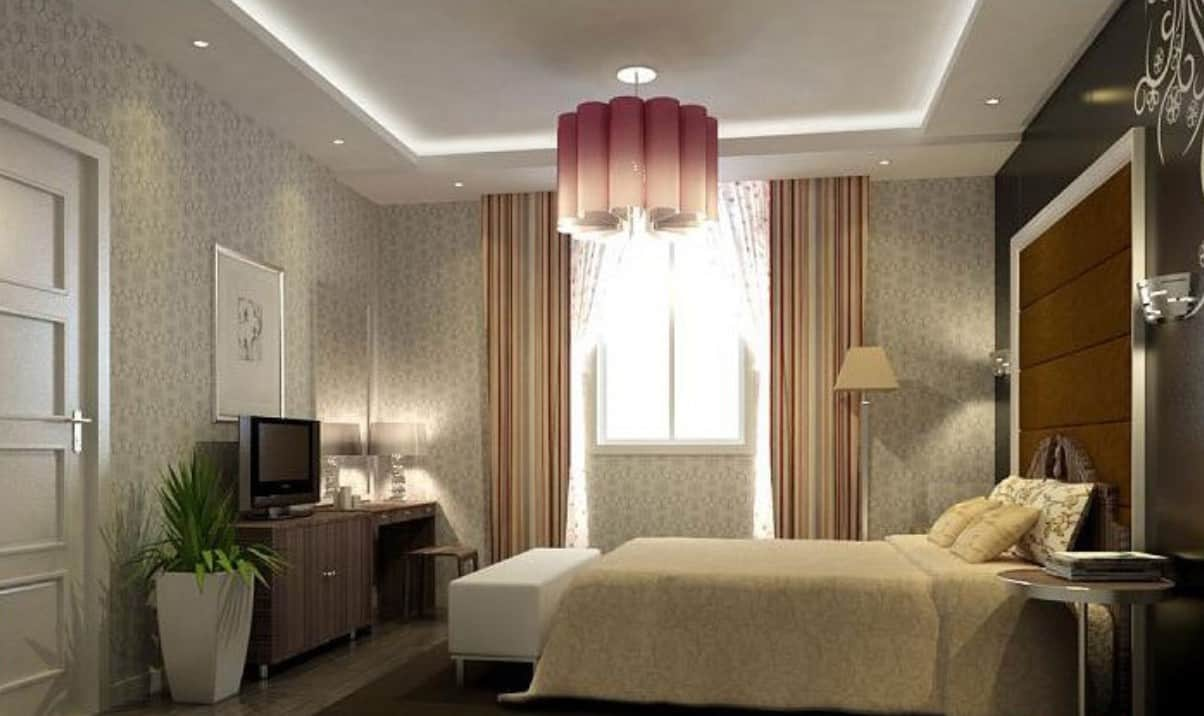 nontraditonal chandelier3  Romantic Bedroom Lighting Ideas for Valentines Day