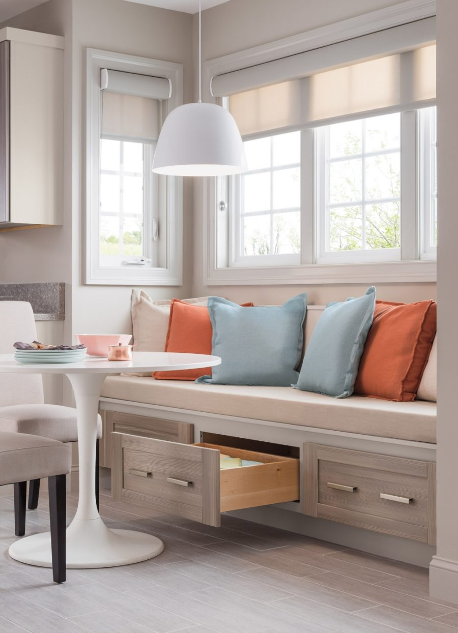 15 Kitchen Banquette Seating Ideas For Your Breakfast Nook