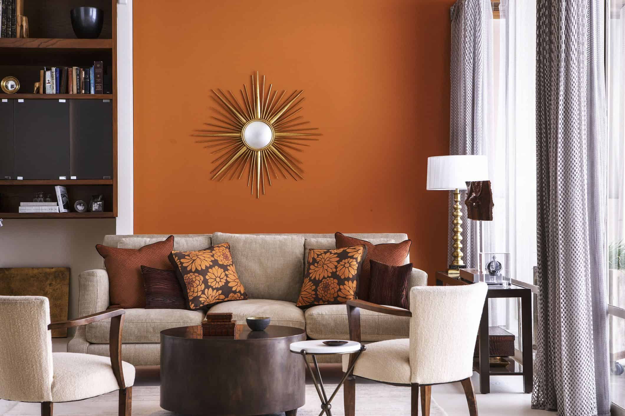 Warm hues are coming back with a vengeance to completely redesign the way warm tones are thought of when it comes to home decor.