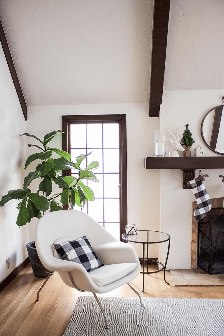 Buffalo Check modern living room
