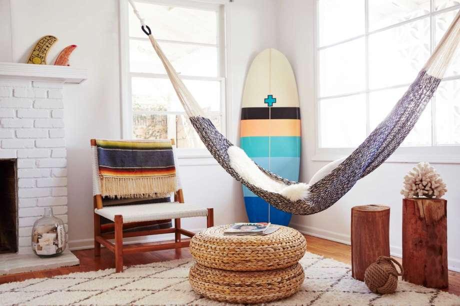 cotton rope indoor hammock