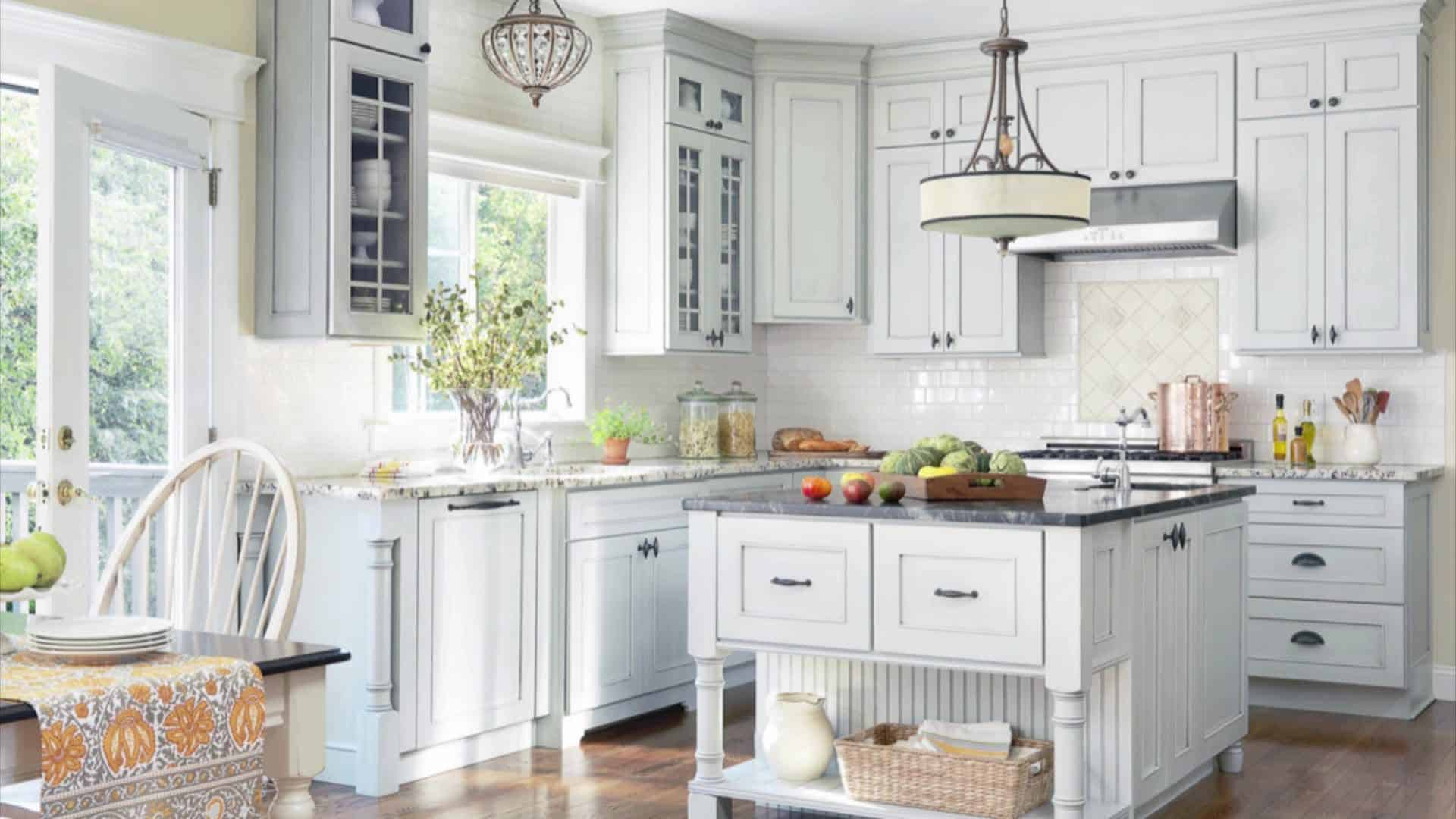 Custom cabinetry means the cabinets are designed to fit your kitchen perfectly.
