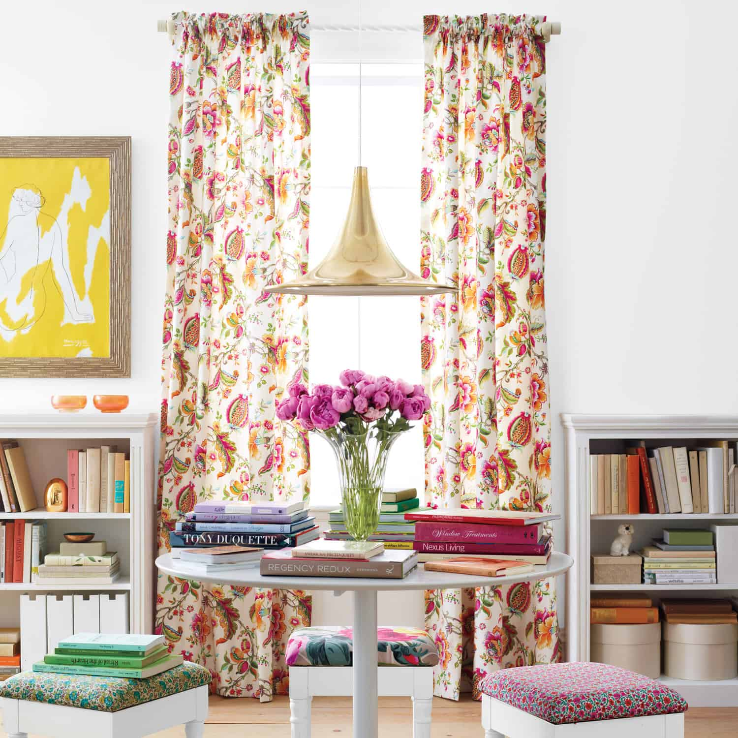 floral print decor  10 Summer Trends To Bring The Sun In