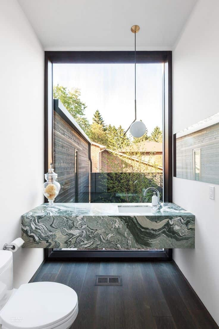 green marble counter Green Marble Is The Latest Trend You Will Love