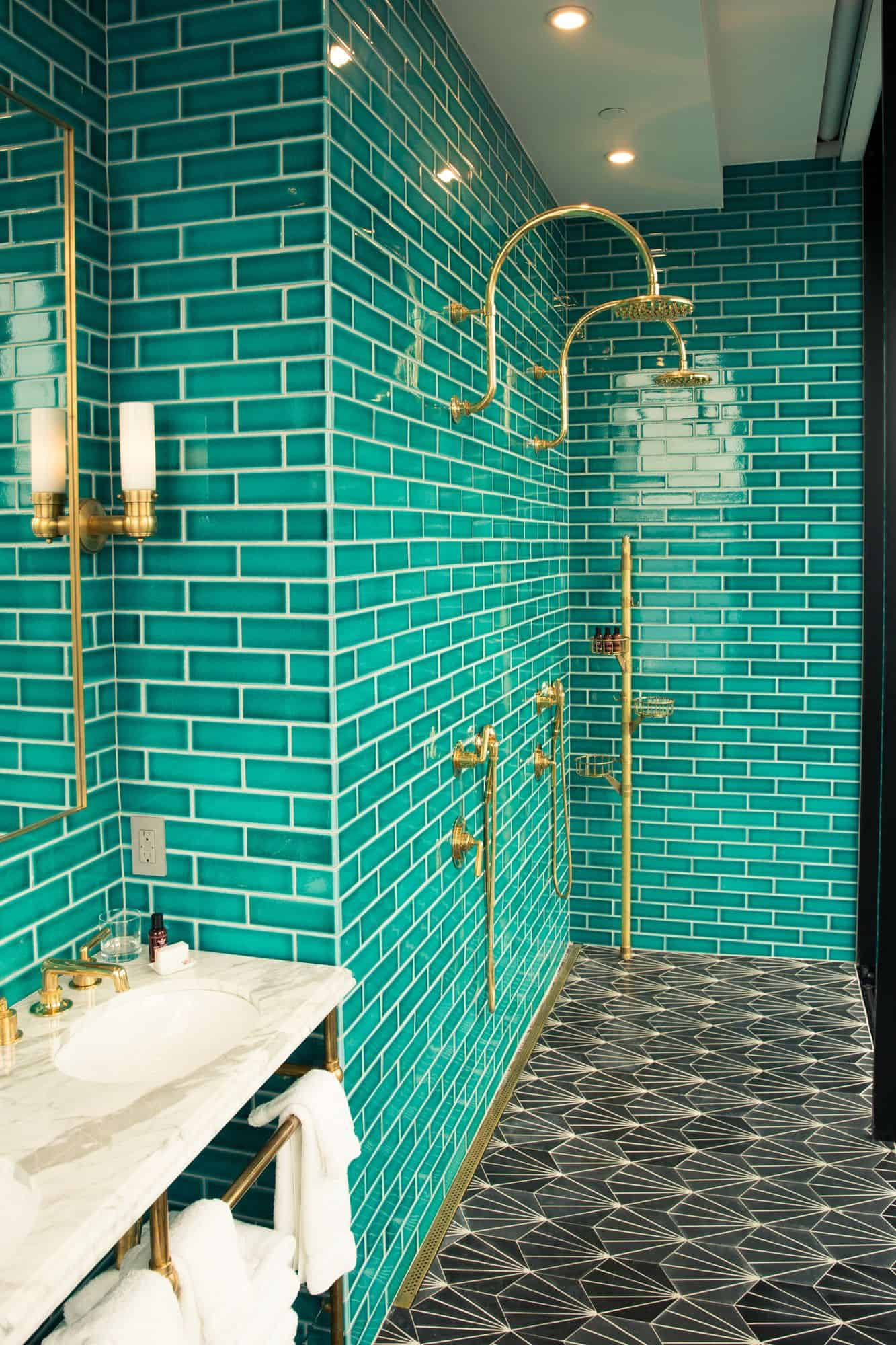 The beauty of it is it will completely change the appearance of your bathroom.