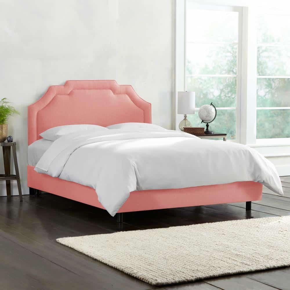 linen petal twin bed