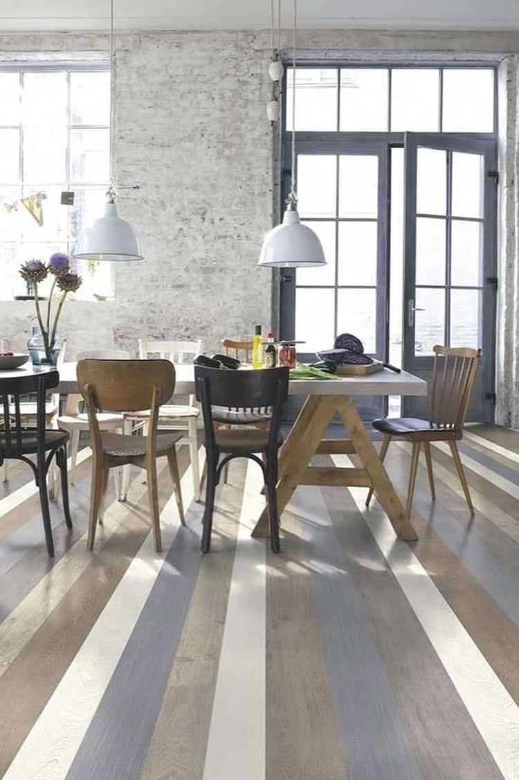 painted-floors stripes