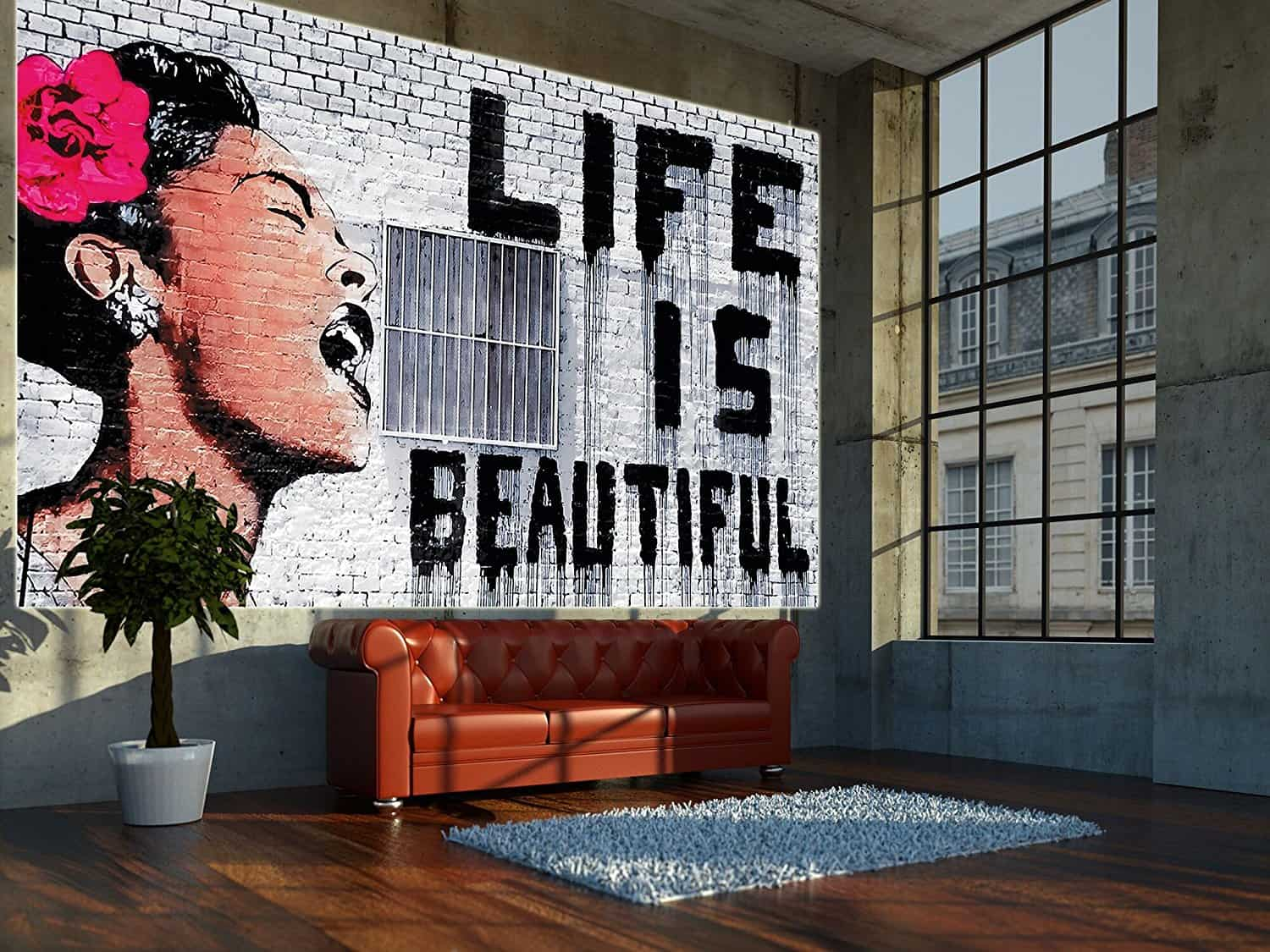 send a message 10 Stunning Ways To Bring Street Art To The Home