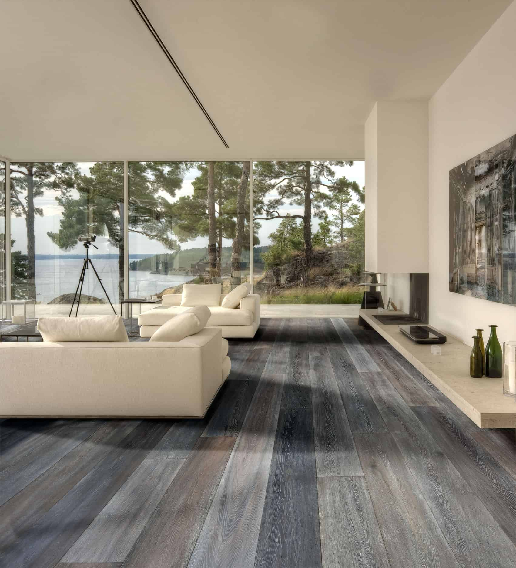 Modern Living Room Flooring Ideas: Hardwood Floor Designs That Are Currently Trending