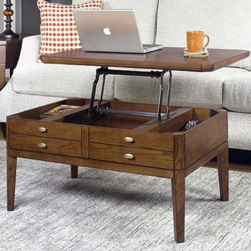 WeybossettLiftTopCoffeeTable 15 Lift Top Coffee Tables To Help Organize Your Space
