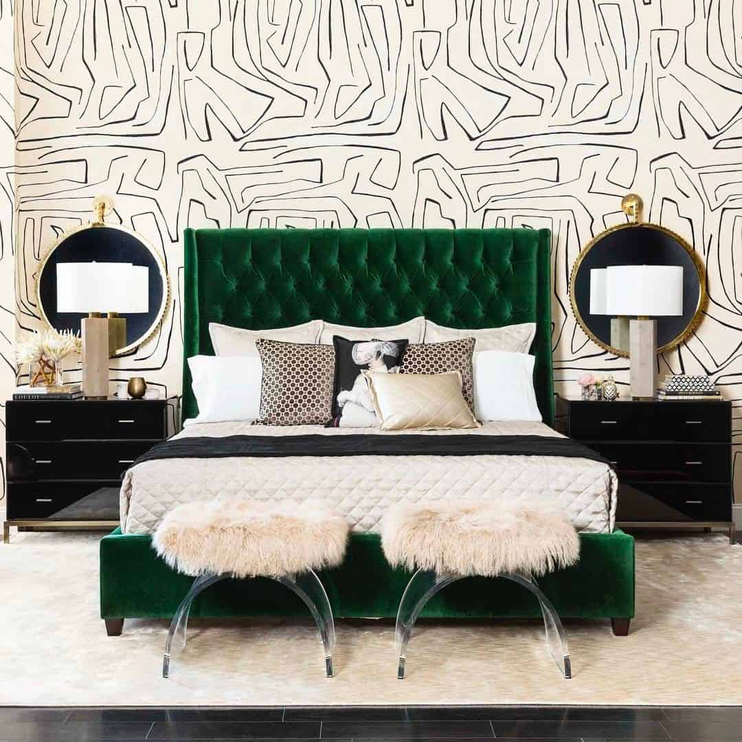 Green Bedroom Ideas That Will Refresh The Space - Pop-bedroom-design-by-altamoda