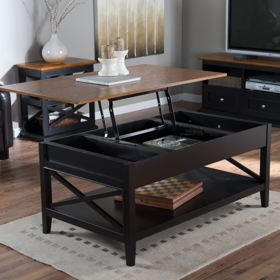 - 15 Lift-Top Coffee Tables To Help Organize Your Space