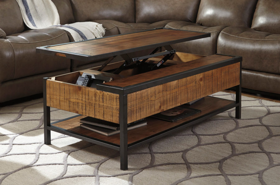 Lift Top Coffee Tables To Help Organize