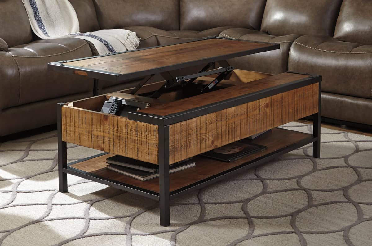 distressed-natural-wood-lift-top-coffee-table