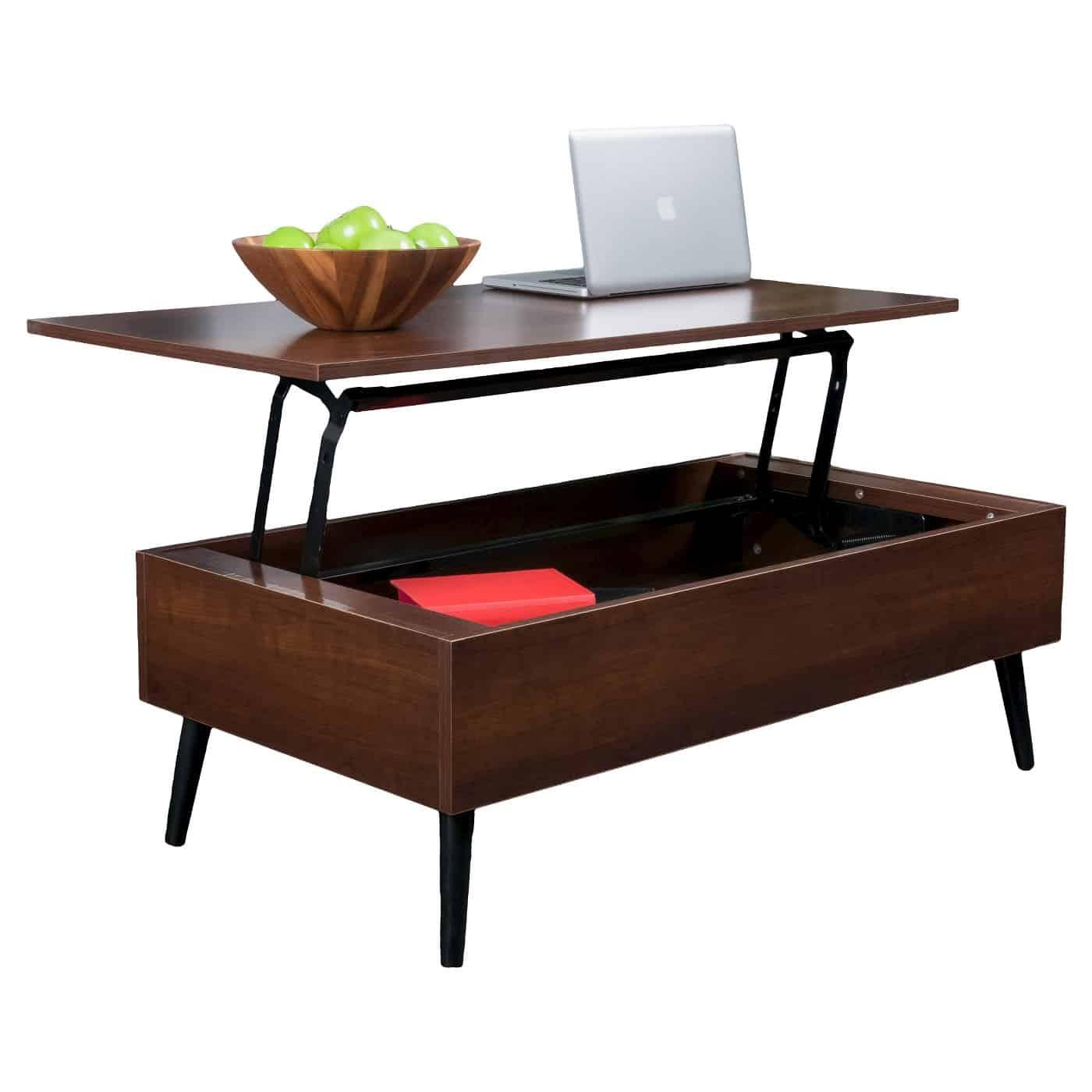 elliot wood lift top coffee table