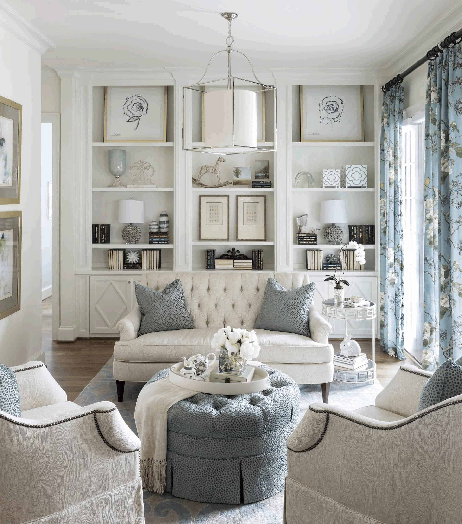 Living Room Furniture Ideas: 12 Lovely White Living Room Furniture Ideas