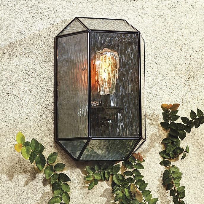 micah modern outdoor sconce