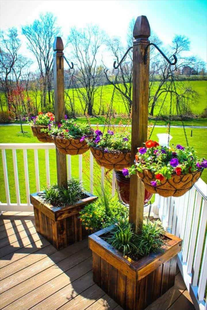 pallet planter patio furniture