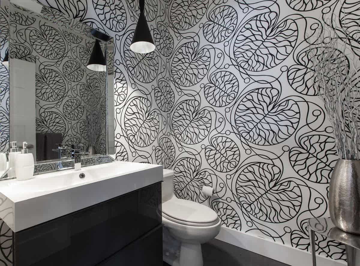 A statement wallpaper could be exactly what you need to elevate the appearance of the space.