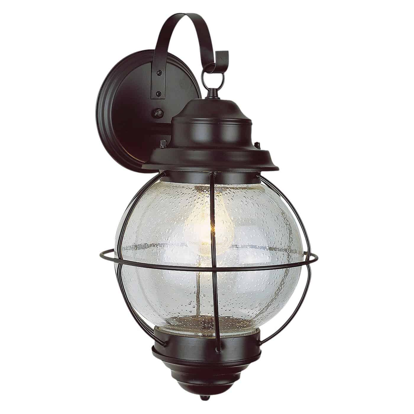 vintage onion lantern wall mount