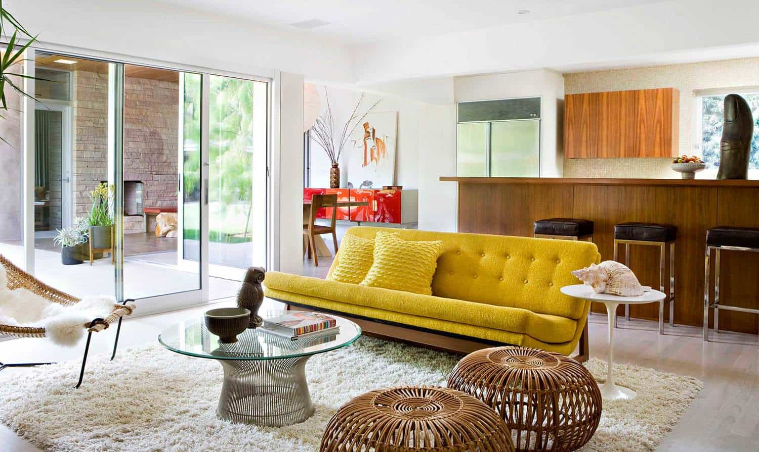 whimscal bedroom Mid Century Living Room Ideas That Are Timeless