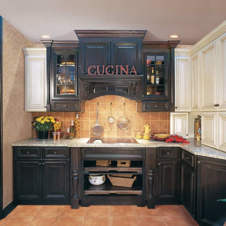 Black Kitchen Cabinet Ideas: Black Kitchen Cabinet Ideas For The Chic Cook