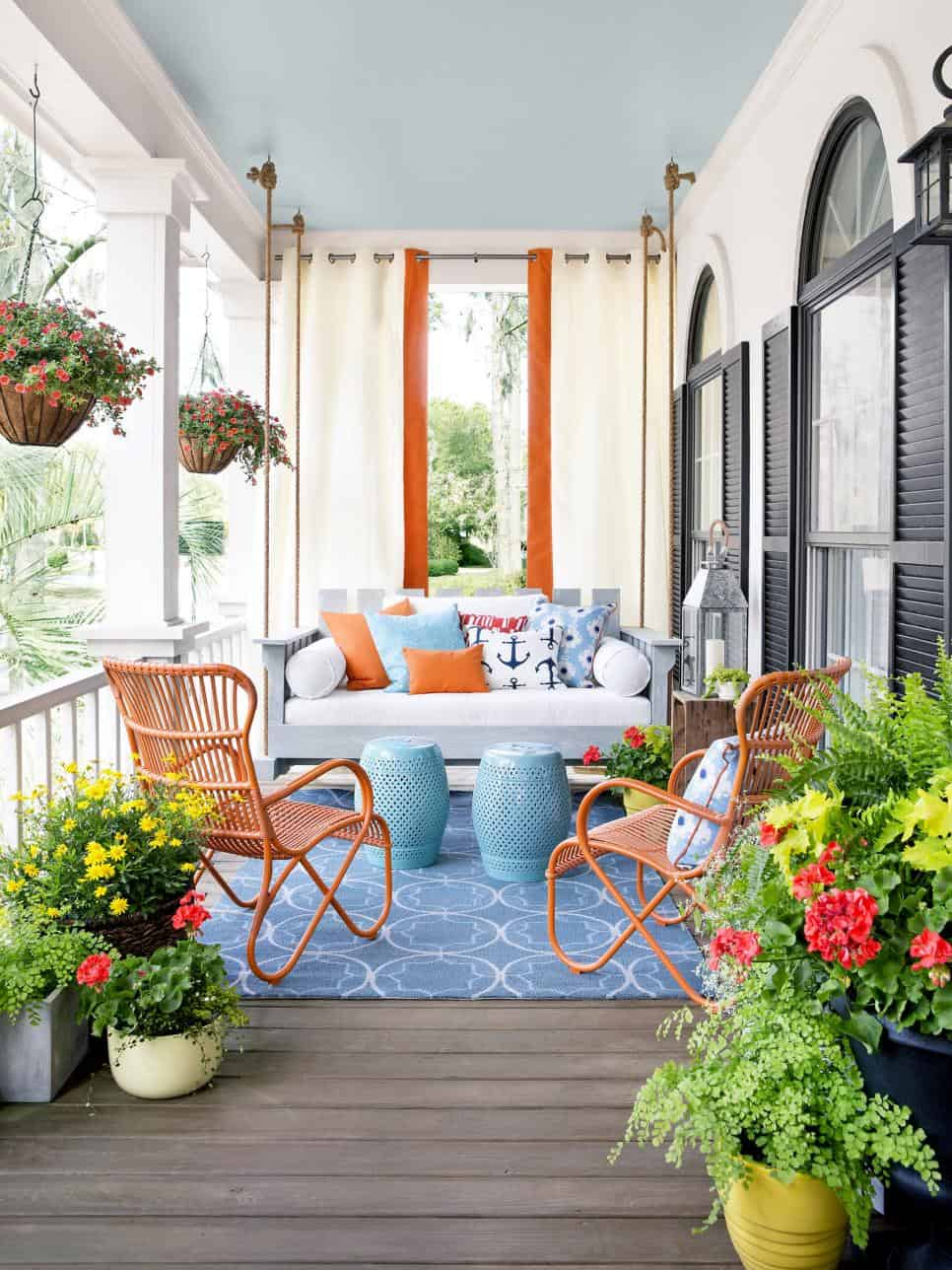 Pops of Color. View in gallery A ... - 11 Patio Ideas For The Perfect Backyard