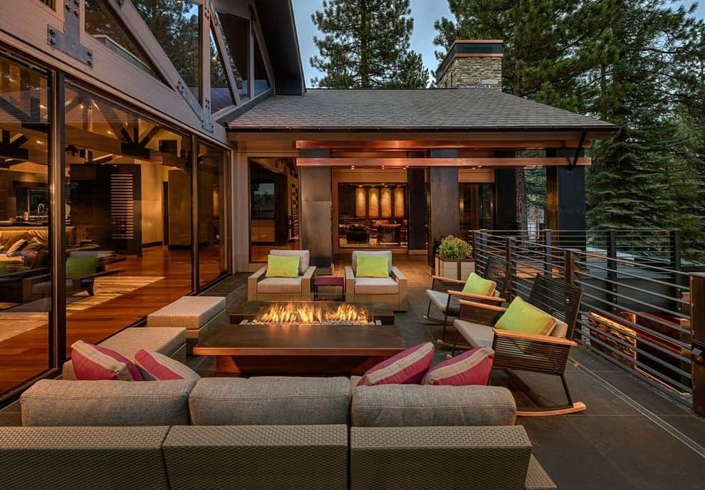 Firepits have become a grand gesture for any outdoor space.