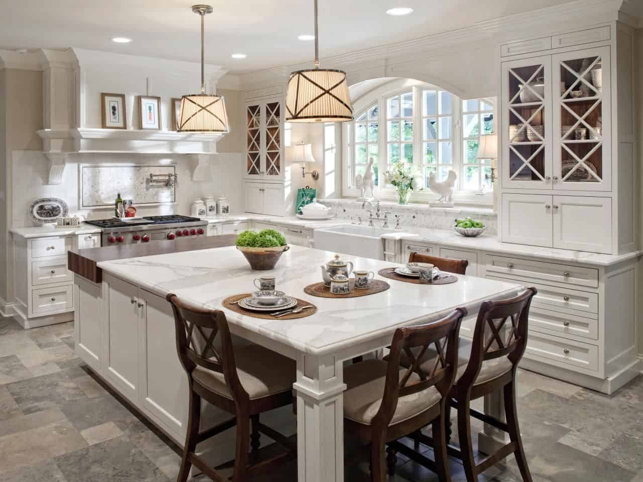 multitasking kitchen island
