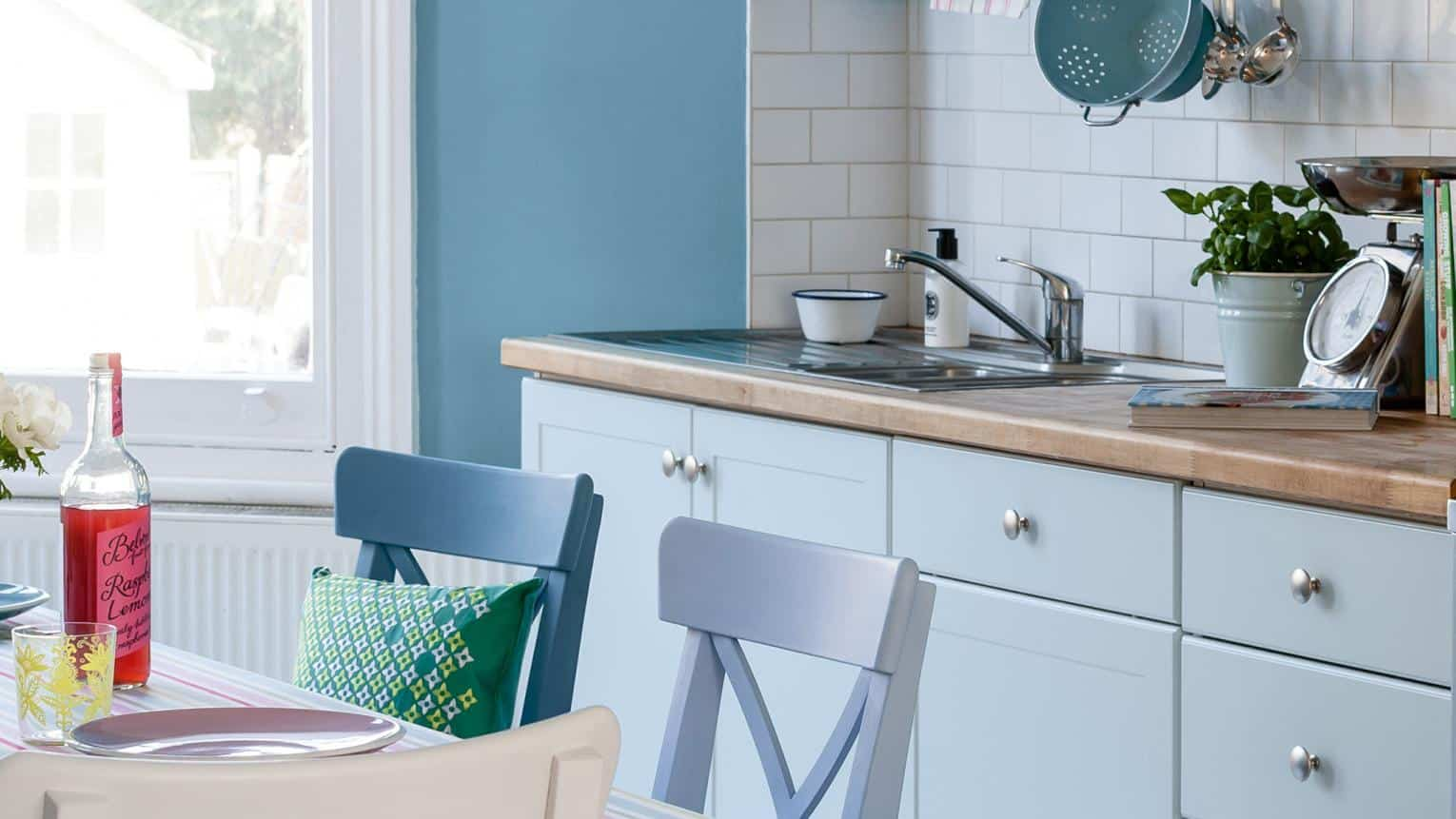 pastel hints in the kitchen Cool Kitchen Trends That Are Taking 2018 By Storm