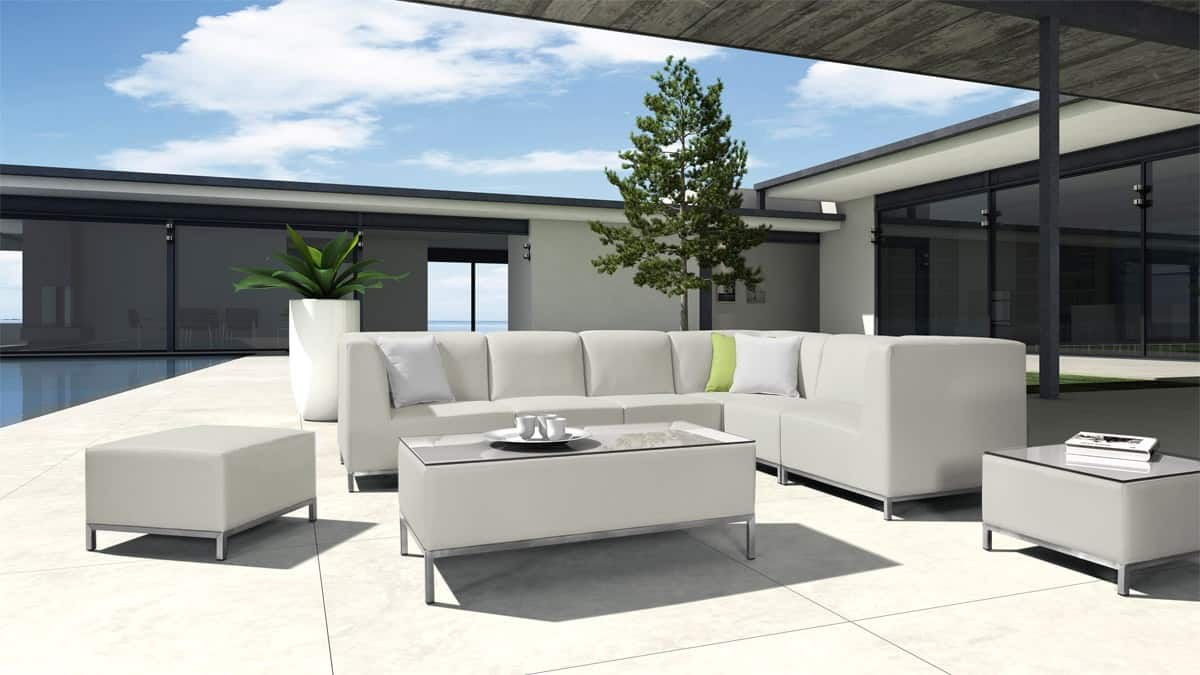 patio sofa 11 Patio Ideas For The Perfect Backyard