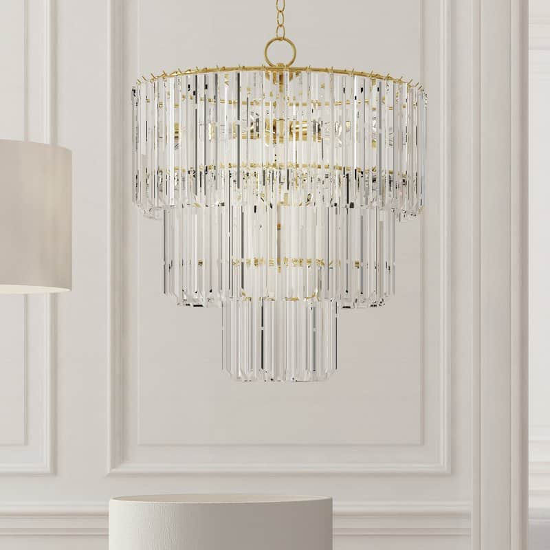 Grisella+9-Light+Crystal+Chandelier