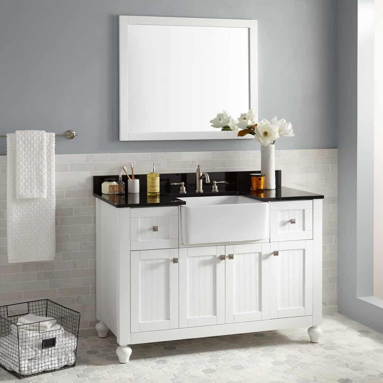 barn house sinks