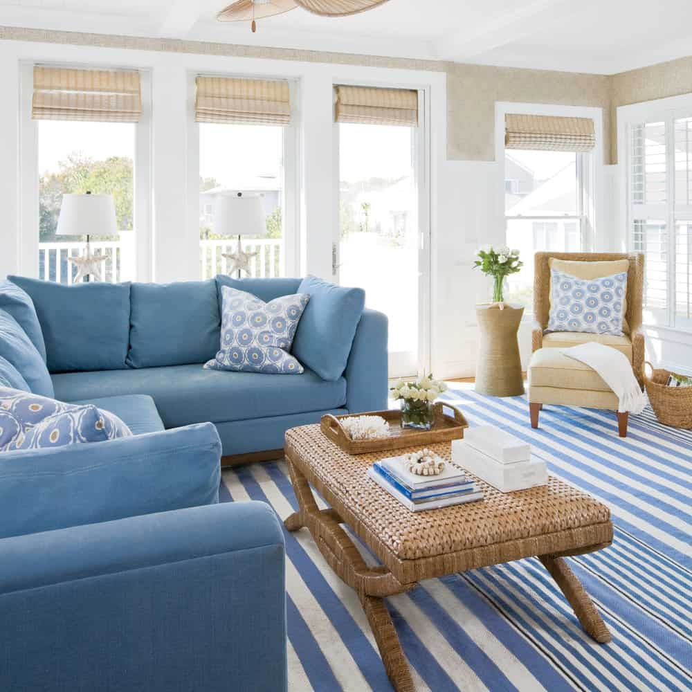Nautical Family Room Furniture