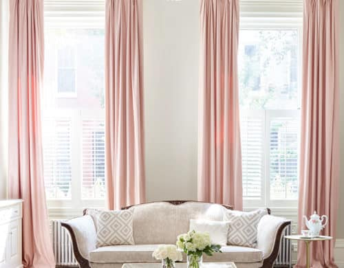 Ever wanted to add a feminine touch to your living room but couldn't figure out the right way to do so?