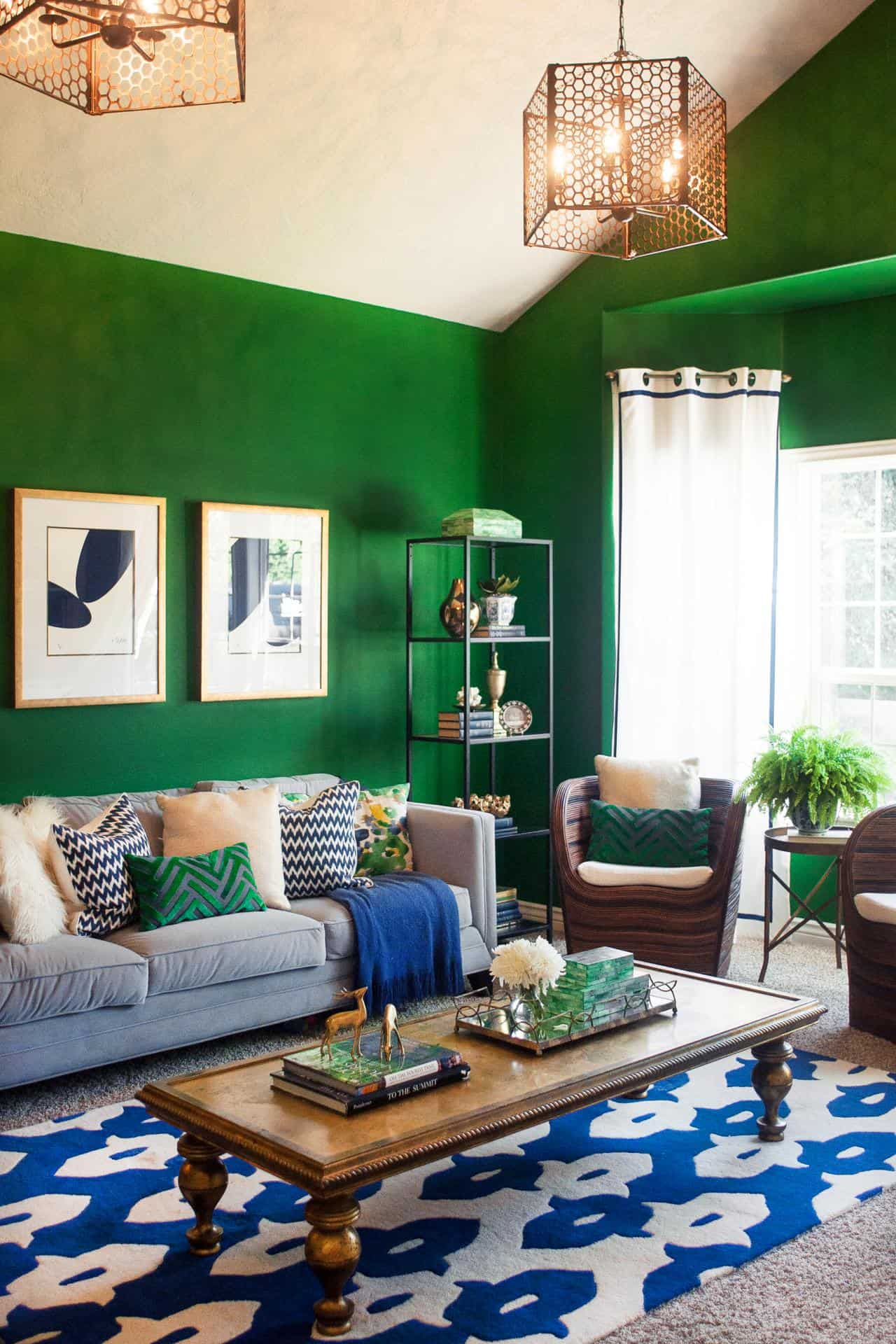 kelly green Retro Hues That Are Making A Huge Decor Comeback