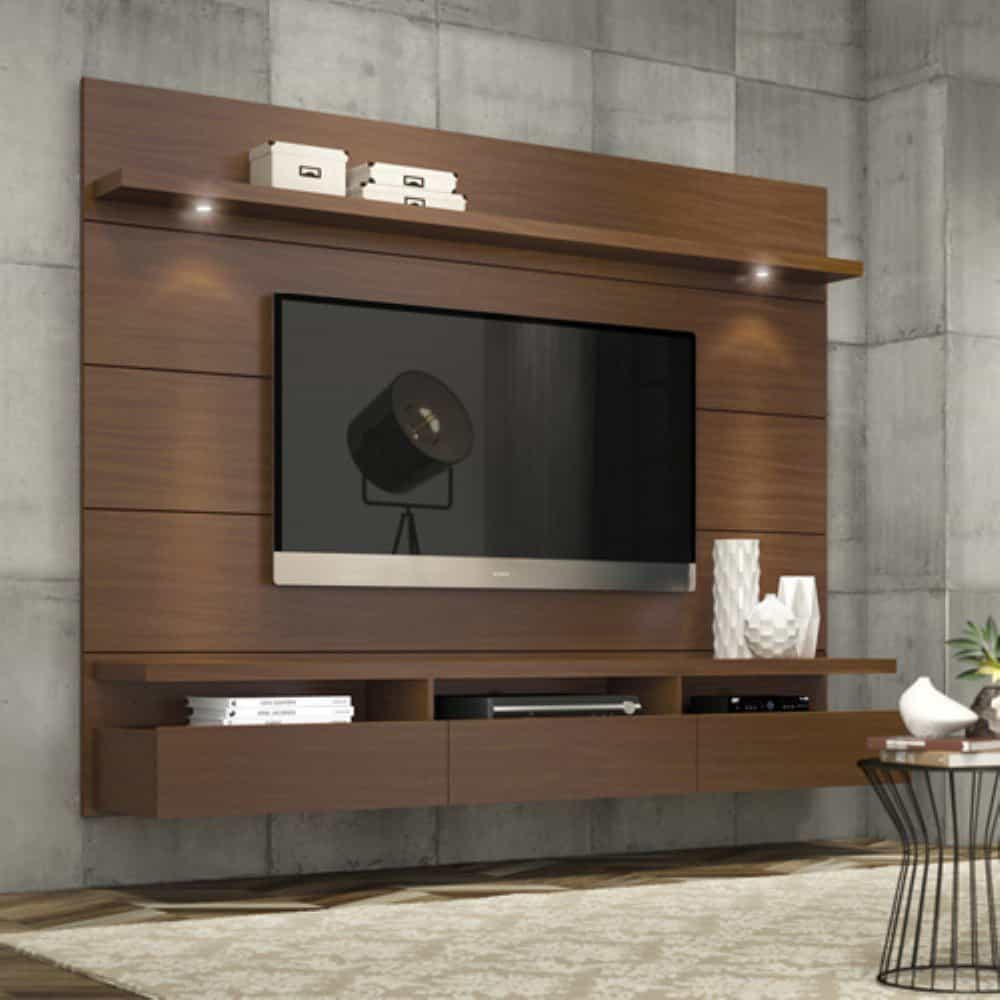 large floating entertainment center