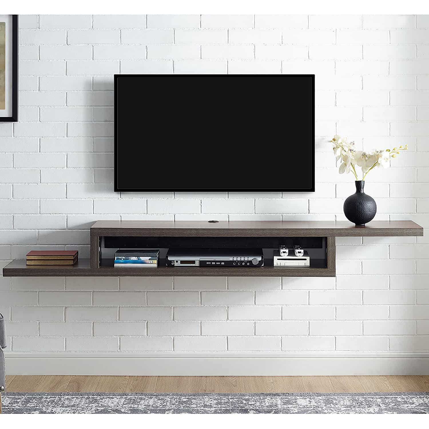 martin furniture floating wall console