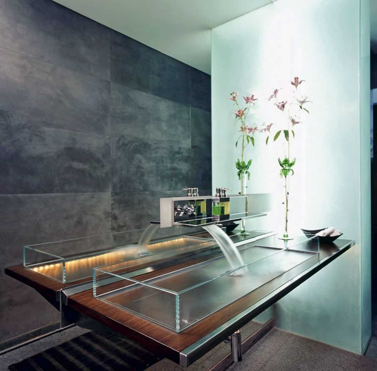 Bathroom Sink Ideas That Bring Your Space To Life - Ultra modern bathroom sinks