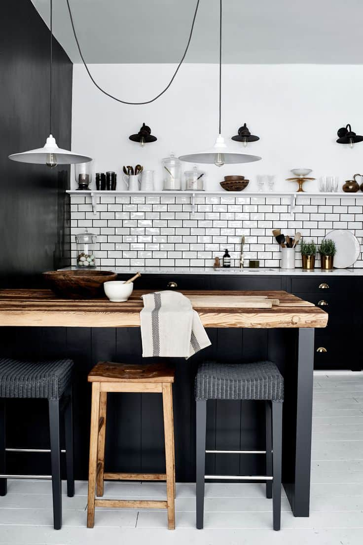 simple and stylish kitchen