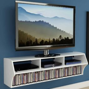 15 Floating TV Stands For Your Modern Living Room