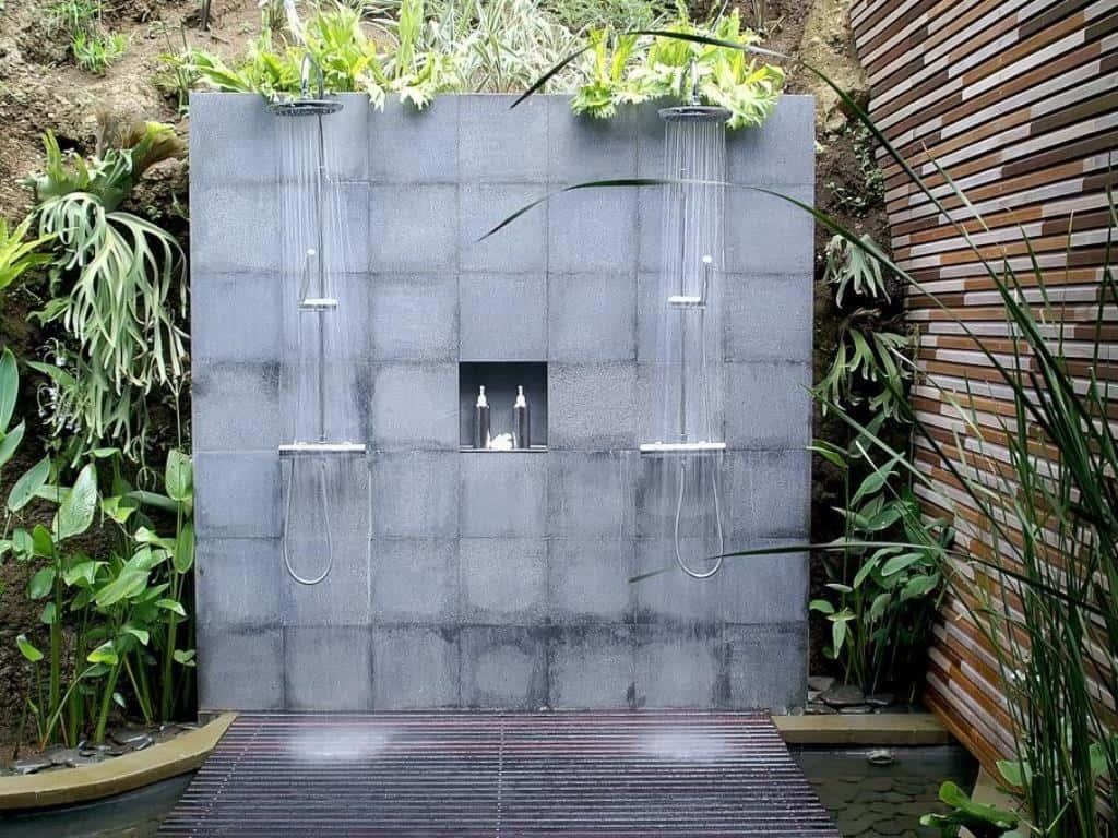 industrial outdoor shower