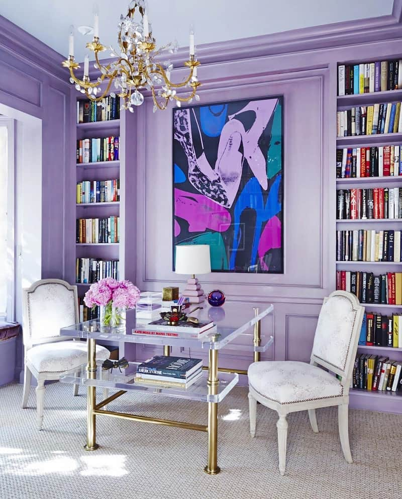 mix and match purple hues