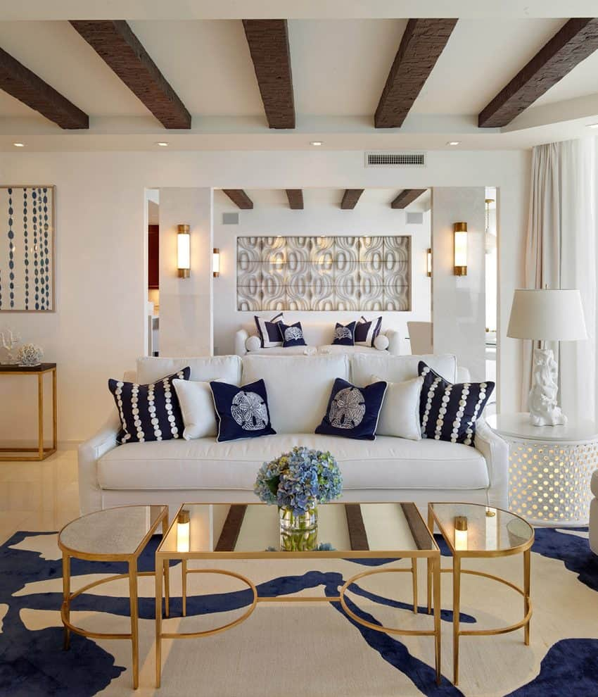 Best Living Room Color Ideas: Nautical Ideas For Summer Inspired Homes