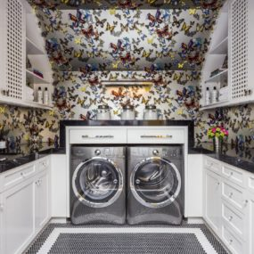 10 Gorgeous Yet Functional Laundry Rooms