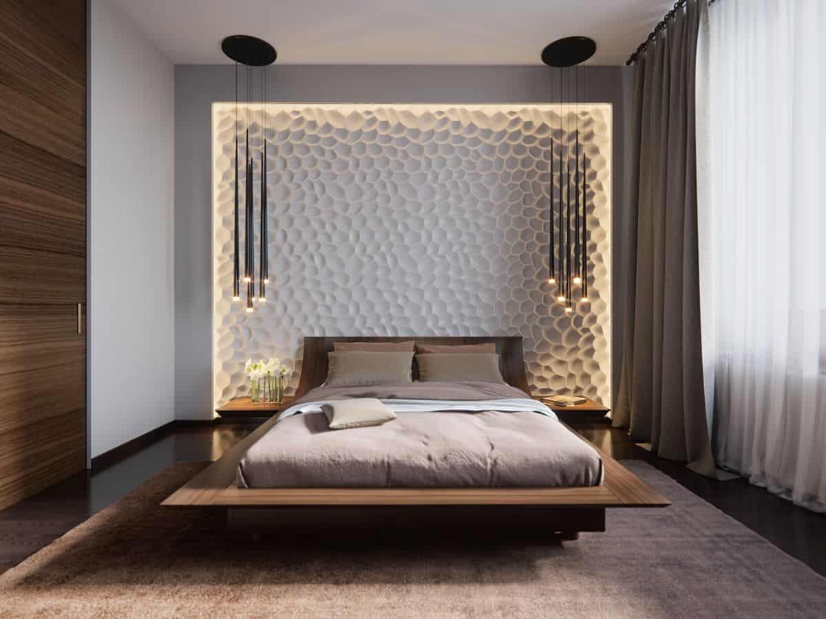 Stunning Bedroom Lighting Design Which Makes Effect Floating Of The with regard to dimensions 1200 X 900