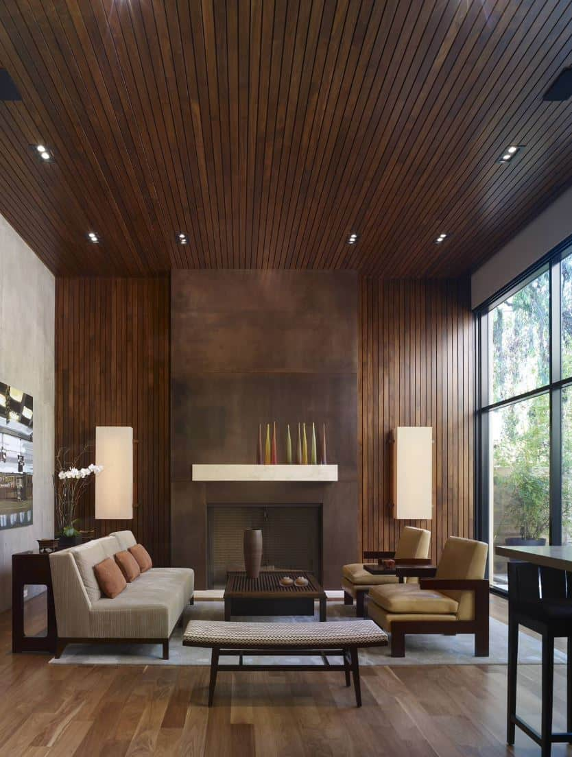 wood paneling living room.jpg 2 Outdated Home Trends That Could Be Making A Comeback